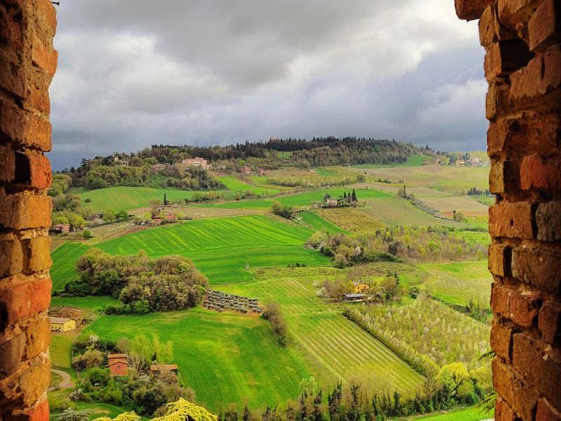 24 - Le colline di Dozza tra Sillaro e Sellustra